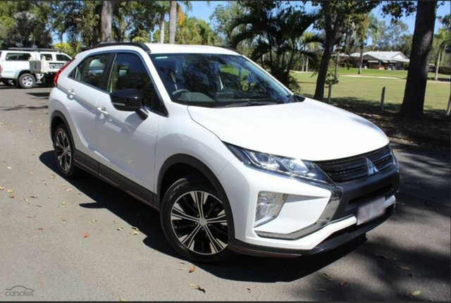 Demo Mitsubishi Eclipse Cross YA MY19 ES 2WD, 2019 Mitsubishi Eclipse Cross YA MY19 ES 2WD Starlight 8 Speed Constant Variable Wagon