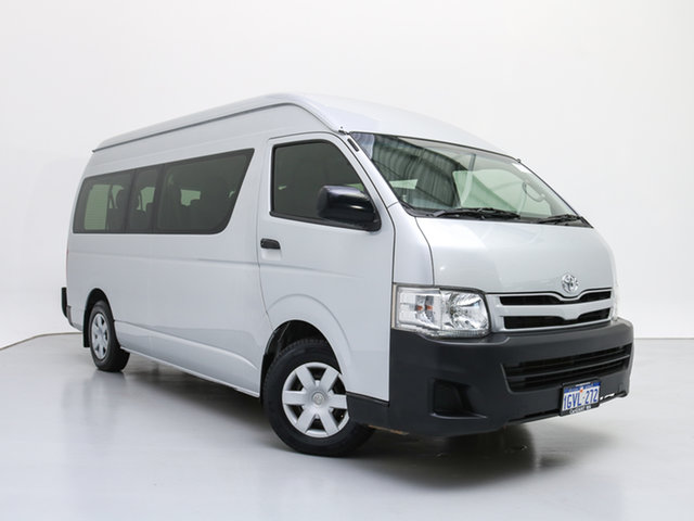 Used Toyota HiAce KDH223R MY12 Upgrade Commuter, 2013 Toyota HiAce KDH223R MY12 Upgrade Commuter Silver 4 Speed Automatic Bus