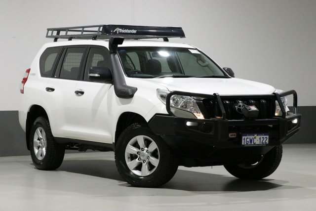 Used Toyota Landcruiser Prado GDJ150R MY16 GX (4x4), 2015 Toyota Landcruiser Prado GDJ150R MY16 GX (4x4) White 6 Speed Manual Wagon
