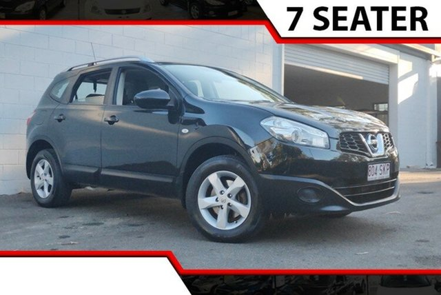 Used Nissan Dualis J107 Series 3 MY12 +2 Hatch X-tronic 2WD ST, 2012 Nissan Dualis J107 Series 3 MY12 +2 Hatch X-tronic 2WD ST Black 6 Speed Constant Variable