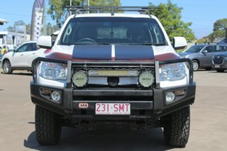 2012 Holden Colorado RG MY13 LT Crew Cab White 6 Speed Sports Automatic Utility.