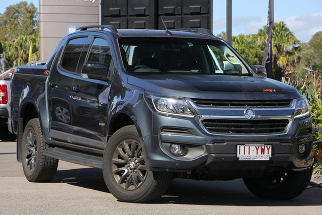 Demo Holden Colorado RG MY19 Z71 Pickup Crew Cab, 2019 Holden Colorado RG MY19 Z71 Pickup Crew Cab Dark Shadow Grey 6 Speed Sports Automatic Utility