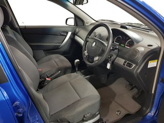 2010 Holden Barina TK MY11 Blue 4 Speed Automatic Hatchback