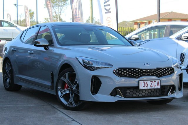 Used Kia Stinger CK MY19 GT Fastback, 2019 Kia Stinger CK MY19 GT Fastback Ceramic Grey 8 Speed Sports Automatic Sedan