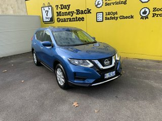 2017 Nissan X-Trail T32 Series II ST X-tronic 4WD Marine Blue 7 Speed Constant Variable Wagon.