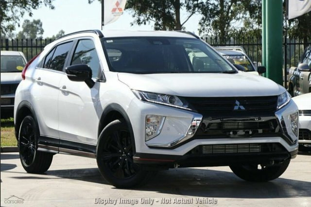 Demo Mitsubishi Eclipse Cross YA MY19 Black Edition 2WD, 2019 Mitsubishi Eclipse Cross YA MY19 Black Edition 2WD Starlight 8 Speed Constant Variable Wagon
