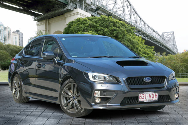 Used Subaru WRX V1 MY16 Premium Lineartronic AWD, 2015 Subaru WRX V1 MY16 Premium Lineartronic AWD Grey 8 Speed Constant Variable Sedan