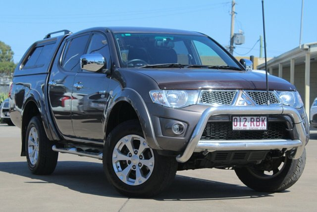 Used Mitsubishi Triton MN MY10 GLX-R Double Cab, 2010 Mitsubishi Triton MN MY10 GLX-R Double Cab Grey 5 Speed Sports Automatic Utility