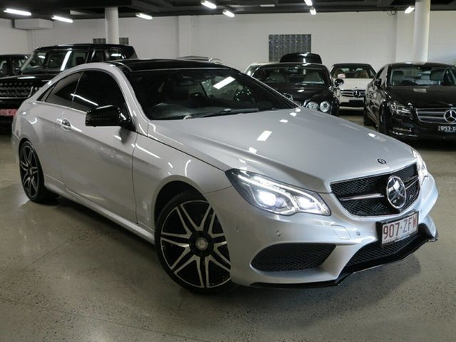 Used Mercedes-Benz E-Class C207 806MY E250 7G-Tronic +, 2016 Mercedes-Benz E-Class C207 806MY E250 7G-Tronic + Iridium Silver 7 Speed Sports Automatic Coupe
