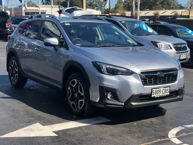 Demo Subaru XV G5X MY19 2.0i-S Lineartronic AWD, 2019 Subaru XV G5X MY19 2.0i-S Lineartronic AWD Ice Silver 7 Speed Constant Variable Wagon