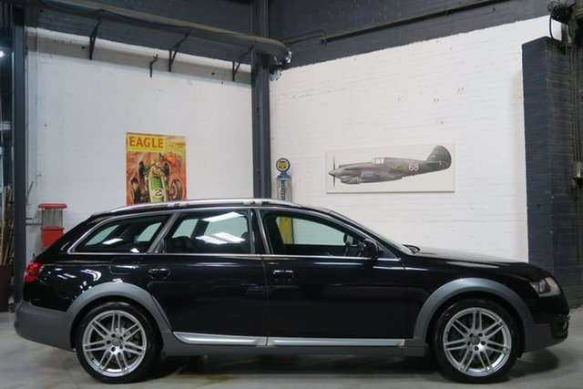 Used Audi Allroad 4F MY11 Tiptronic Quattro, 2010 Audi Allroad 4F MY11 Tiptronic Quattro Black 6 Speed Sports Automatic Wagon