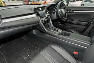2018 Honda Civic 10th Gen MY18 VTi-LX Modern Steel 1 Speed Constant Variable Hatchback