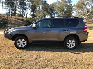 2014 Toyota Landcruiser Prado KDJ150R MY14 GXL (4x4) Graphite 5 Speed Sequential Auto Wagon