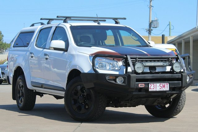 Used Holden Colorado RG MY13 LT Crew Cab, 2012 Holden Colorado RG MY13 LT Crew Cab White 6 Speed Sports Automatic Utility