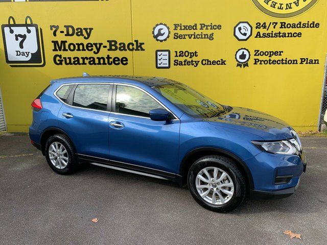 Used Nissan X-Trail T32 Series II ST X-tronic 4WD, 2017 Nissan X-Trail T32 Series II ST X-tronic 4WD Marine Blue 7 Speed Constant Variable Wagon