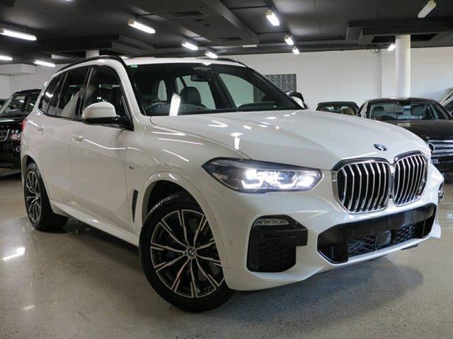 Used BMW X5 G05 xDrive30d Steptronic, 2019 BMW X5 G05 xDrive30d Steptronic Alpine White 8 Speed Sports Automatic Wagon