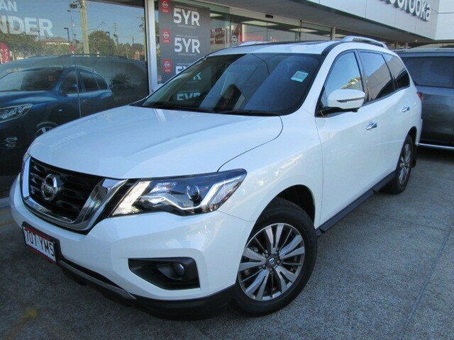 Demo Nissan Pathfinder R52 Series II MY17 ST-L X-tronic 2WD, 2017 Nissan Pathfinder R52 Series II MY17 ST-L X-tronic 2WD Ivory Pearl 1 Speed Constant Variable
