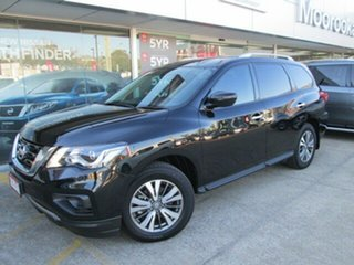 2017 Nissan Pathfinder R52 Series II MY17 ST X-tronic 4WD Diamond Black 1 Speed Constant Variable.