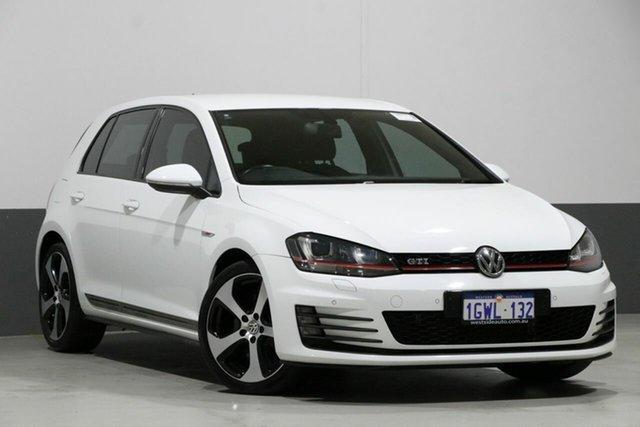 Used Volkswagen Golf AU MY16 GTi, 2016 Volkswagen Golf AU MY16 GTi White 6 Speed Manual Hatchback
