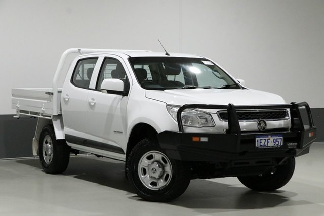 Used Holden Colorado RG MY16 LS (4x2), 2016 Holden Colorado RG MY16 LS (4x2) White 6 Speed Automatic Crew Cab Chassis