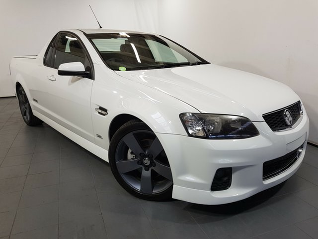 Used Holden Ute VE II MY12.5 SS Z Series, 2012 Holden Ute VE II MY12.5 SS Z Series White 6 Speed Manual Utility
