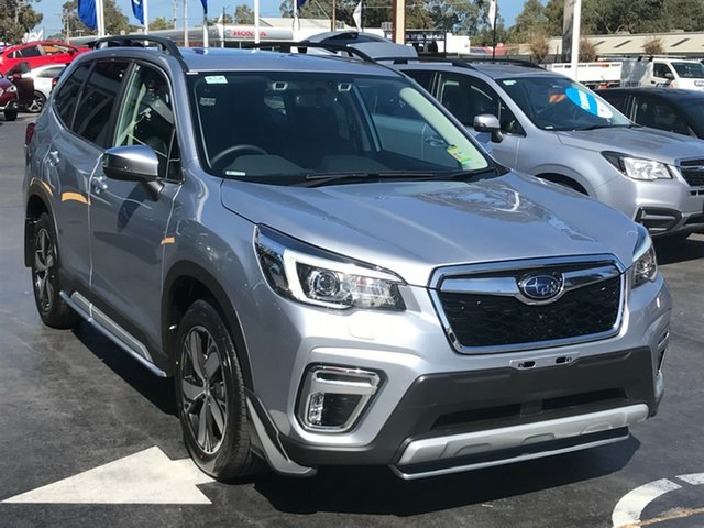 New Subaru Forester S5 MY19 2.5i-S CVT AWD, 2019 Subaru Forester S5 MY19 2.5i-S CVT AWD Ice Silver 7 Speed Constant Variable Wagon