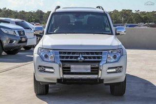 2018 Mitsubishi Pajero NX MY18 Exceed Warm White 5 Speed Sports Automatic Wagon.