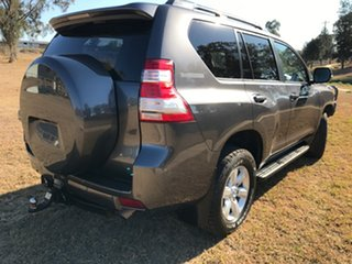 2014 Toyota Landcruiser Prado KDJ150R MY14 GXL (4x4) Graphite 5 Speed Sequential Auto Wagon.