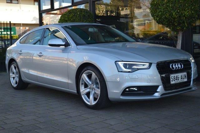 Used Audi A5 8T MY13 Sportback Multitronic, 2012 Audi A5 8T MY13 Sportback Multitronic 8 Speed Constant Variable Hatchback