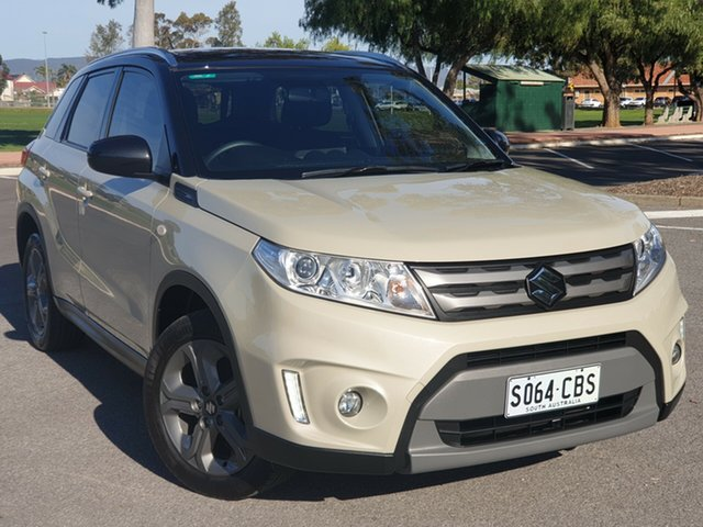 Used Suzuki Vitara LY RT-S 2WD, 2015 Suzuki Vitara LY RT-S 2WD Cream 6 Speed Sports Automatic Wagon