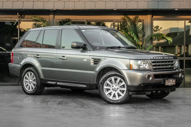 Used Land Rover Range Rover Sport L320 09MY TDV6, 2009 Land Rover Range Rover Sport L320 09MY TDV6 Grey 6 Speed Sports Automatic Wagon