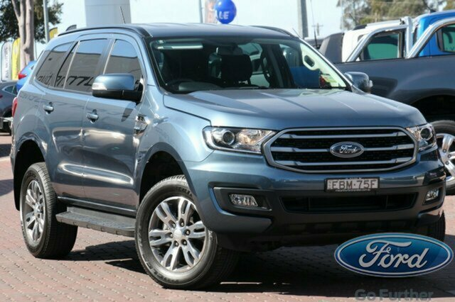 Used Ford Everest UA II 2019.00MY Ambiente 4WD, 2019 Ford Everest UA II 2019.00MY Ambiente 4WD Blue 6 Speed Sports Automatic SUV