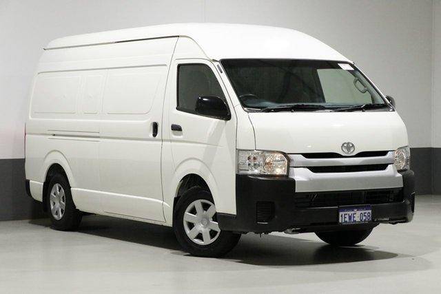 Used Toyota HiAce KDH221R MY15 SLWB, 2015 Toyota HiAce KDH221R MY15 SLWB White 4 Speed Automatic Van