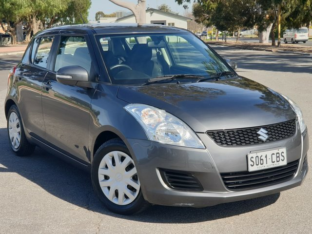 Used Suzuki Swift FZ GL, 2013 Suzuki Swift FZ GL Grey 4 Speed Automatic Hatchback
