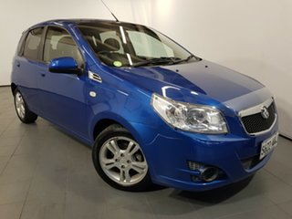 2010 Holden Barina TK MY11 Blue 4 Speed Automatic Hatchback.