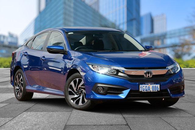 Used Honda Civic 10th Gen MY18 VTi-S, 2018 Honda Civic 10th Gen MY18 VTi-S Blue 1 Speed Constant Variable Sedan