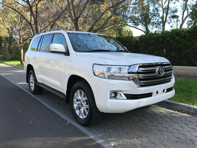 Used Toyota Landcruiser VDJ200R VX, 2018 Toyota Landcruiser VDJ200R VX White 6 Speed Sports Automatic Wagon