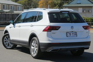 2018 Volkswagen Tiguan 5N MY18 110TDI Comfortline DSG 4MOTION Allspace Pure White 7 Speed.