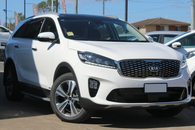 Used Kia Sorento UM MY19 GT-Line AWD, 2019 Kia Sorento UM MY19 GT-Line AWD Clear White 8 Speed Sports Automatic Wagon