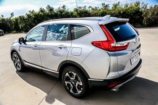 2017 Honda CR-V RW MY18 VTi-S FWD Silver 1 Speed Constant Variable Wagon.