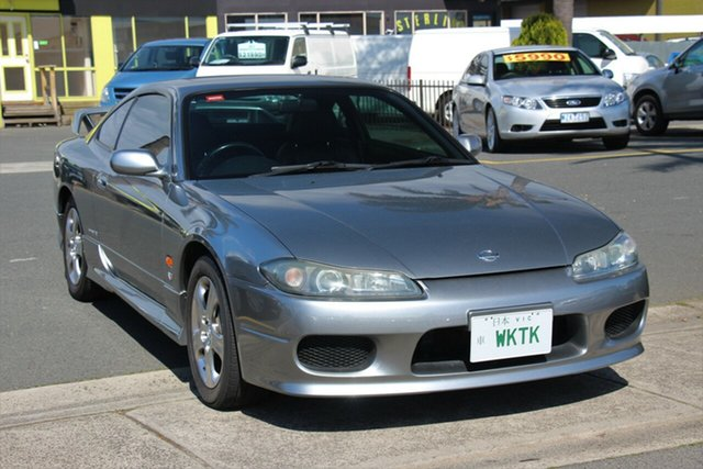 Used Nissan 200SX S15 Spec R GT, 2002 Nissan 200SX S15 Spec R GT Grey 4 Speed Automatic Coupe