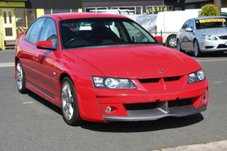 2002 Holden Special Vehicles ClubSport Y Red 6 Speed Manual Sedan.
