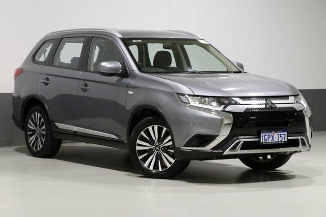 Used Mitsubishi Outlander ZL MY18.5 ES 7 Seat (2WD), 2018 Mitsubishi Outlander ZL MY18.5 ES 7 Seat (2WD) Grey Continuous Variable Wagon