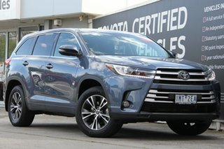 2018 Toyota Kluger GSU50R GX 2WD Cosmos Blue 8 Speed Sports Automatic Wagon.