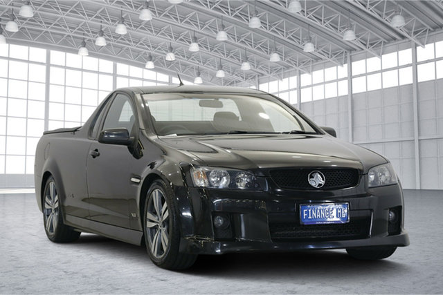 Used Holden Ute VE MY09.5 SS, 2009 Holden Ute VE MY09.5 SS Black 6 Speed Manual Utility