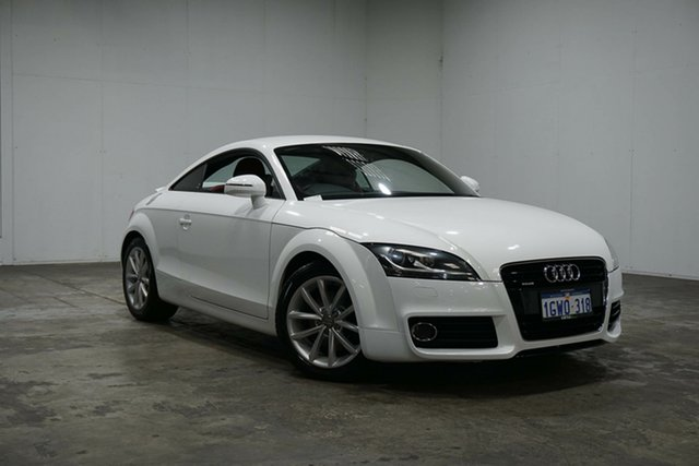 Used Audi TT 8J MY12 S Tronic Quattro, 2012 Audi TT 8J MY12 S Tronic Quattro White 6 Speed Sports Automatic Dual Clutch Coupe