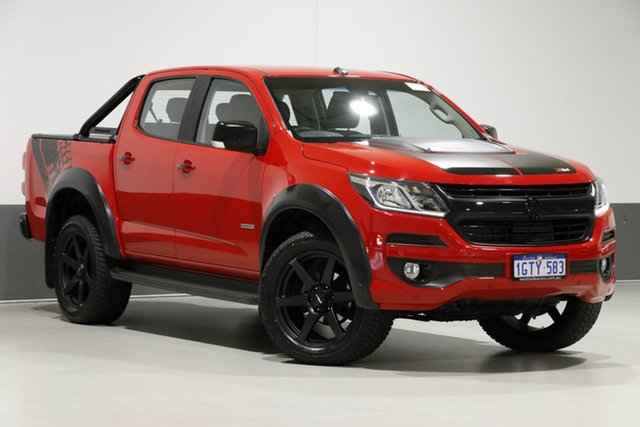 Used Holden Colorado RG MY18 LTZ (4x4), 2018 Holden Colorado RG MY18 LTZ (4x4) Red 6 Speed Manual Crew Cab Pickup