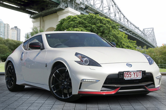Demo Nissan 370Z Z34 MY19 Nismo, 2019 Nissan 370Z Z34 MY19 Nismo Ivory Pearl 7 Speed Sports Automatic Coupe