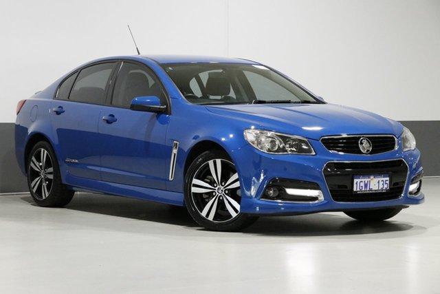 Used Holden Commodore VF MY15 SS Storm, 2015 Holden Commodore VF MY15 SS Storm Perfect Blue 6 Speed Automatic Sedan