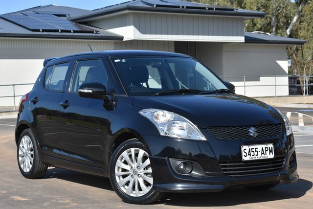 Used Suzuki Swift FZ GLX, 2012 Suzuki Swift FZ GLX Black 5 Speed Manual Hatchback